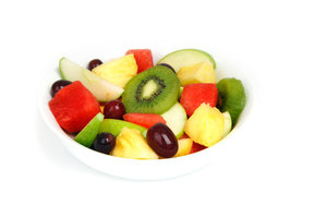 Fruit salad in a bowl