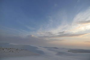 Dunes in White Sands 2