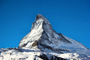 Matterhorn mountain top