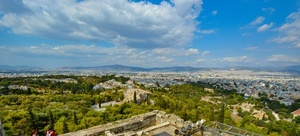 Panorama of Athens