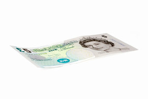 Five pounds note