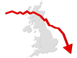 British decline on map
