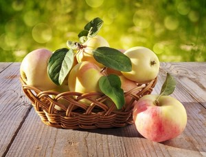 Basket With Apples