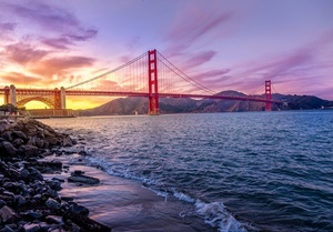 Golden Gate Bridge in California