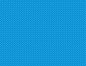 Polka dots blue wallpaper