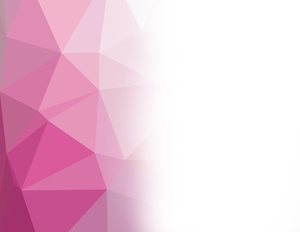 Pink polygonal pattern white background