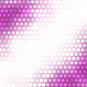 Glowing halftone texture