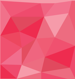 Crimson geometric background