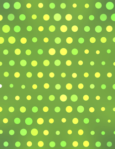 Green background halftone effect