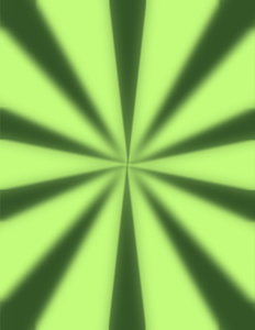 Radial sunbeams background