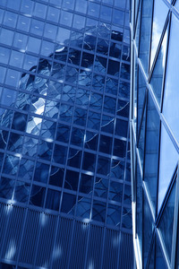 Skyscraper of glass