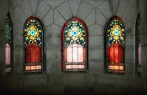 Stained Glass With Pattern