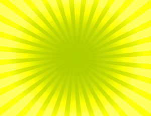 Yellow sunburst