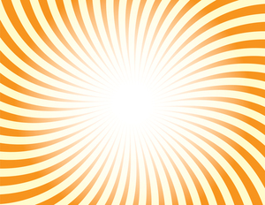 Sunburst pattern