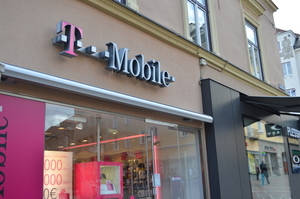 T-Mobile store in Austria