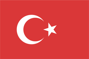 Turkish state flag