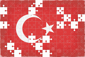 Turkish flag puzzle