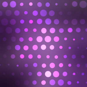 Violet background with halftone pattern