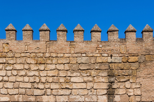 Wall of the Alcazar