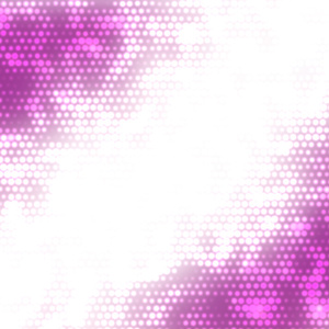 Halftone pattern purple background