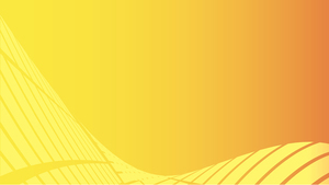 Abstract yellow background wide format