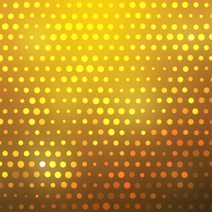 Glowing yellow dots
