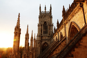 York Minster At Sunset