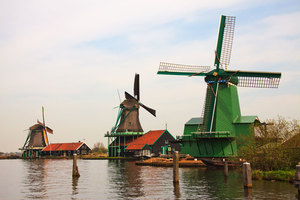 Windmills in The Netherlands