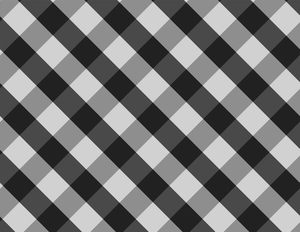 Checkered pattern black and white stripes