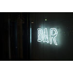 Bar glowing sign