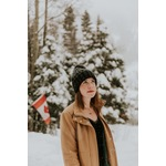 Canadian girl in snow