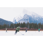 Hockey in Banff National Park
