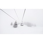 Snow cable car