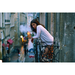 Girl in Bordeaux, France