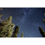 Starry night in Breckenridge, United States