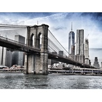 Brooklyn Bridge, New York, US