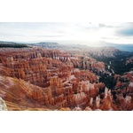 Top view of Bryce Canyon, National Park