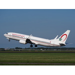 Royal Air Maroc Boeing takes off
