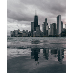 View of Chicago from the lake