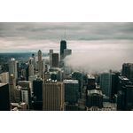 Chicago skyline image