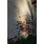 Old shabby brick wall