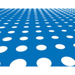 Blue background with white dots