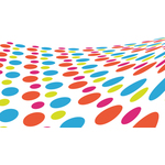 Dotted pattern graphics