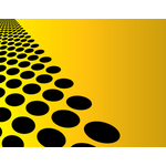 Black dots yellow background