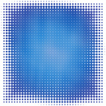 Blue background halftone texture