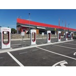 Tesla charging station in Slovenia