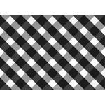 Crisscross black and white pattern