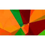 Abstract color graphics