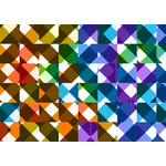 Colored abstract tiles background