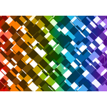 Colored tiles abstract pattern